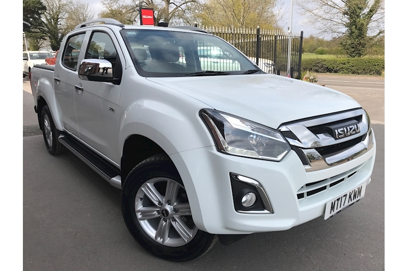 2021 D-Max Utah Double Cab 4x4 Pick Up Fitted Roller Lid Euro 6 1.9 4dr Pickup Automatic Diesel