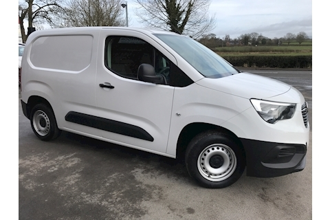 Vauxhall Combo Cargo 2000 Turbo D 100ps L1 H1 Edition Euro 6