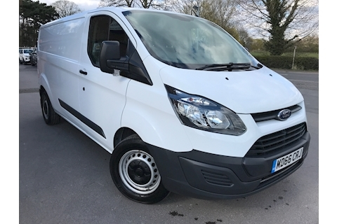 Ford Transit Custom TDCi 340 L2 H1 LWB 130ps Air Con Euro 6
