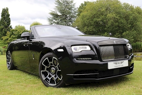 Black Badge Dawn V12 Convertible 6.6 Automatic Petrol