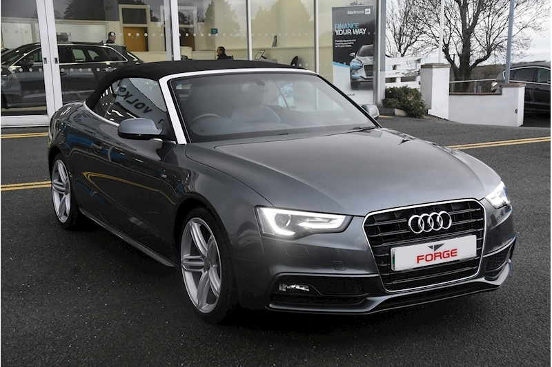 A5 Tdi S Line Special Edition 2.0 2dr Convertible Manual Diesel
