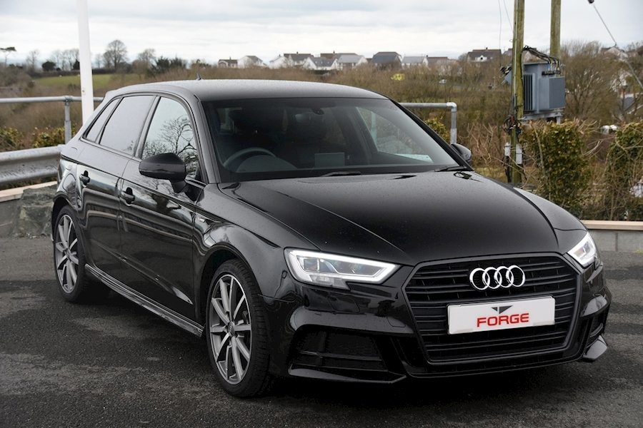 Audi A3 Tdi S Line Black Edition - Large 2