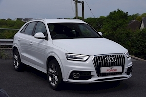 Q3 Tdi Quattro S Line 2.0 5dr Estate Manual Diesel
