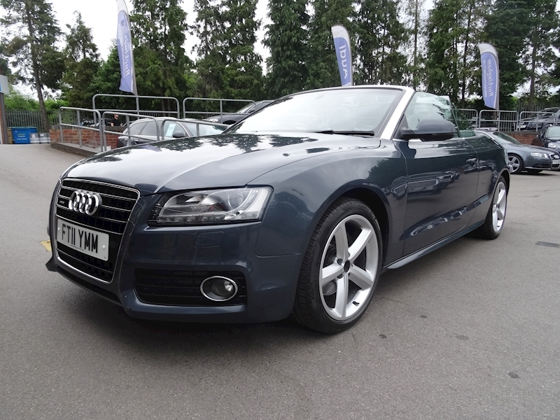 Audi A5 3.0 Tdi Quattro S Line NAV+LEATHER