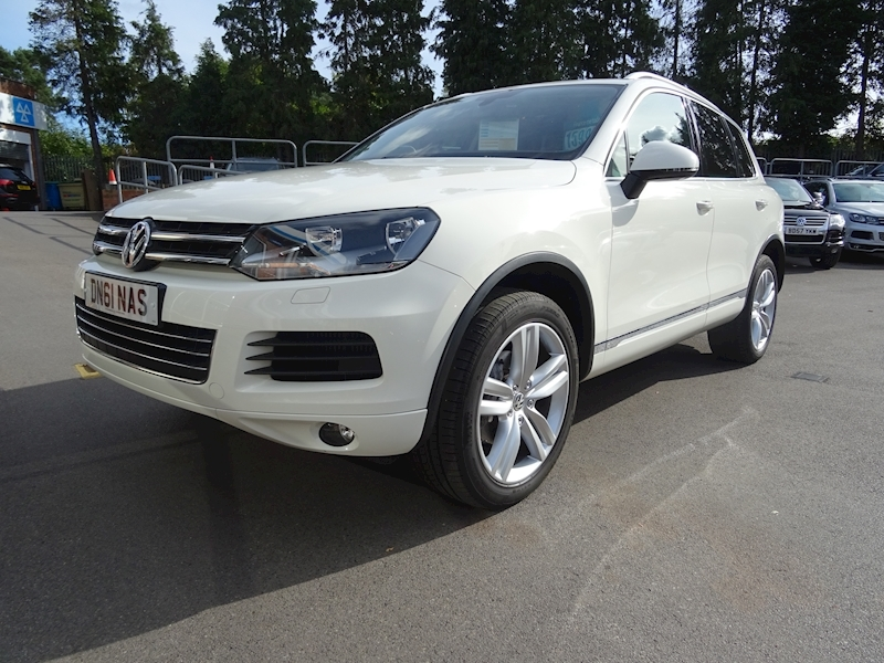 Volkswagen Touareg 3.0 V6 Se Tdi Bluemotion Technology NAV+LEATHER