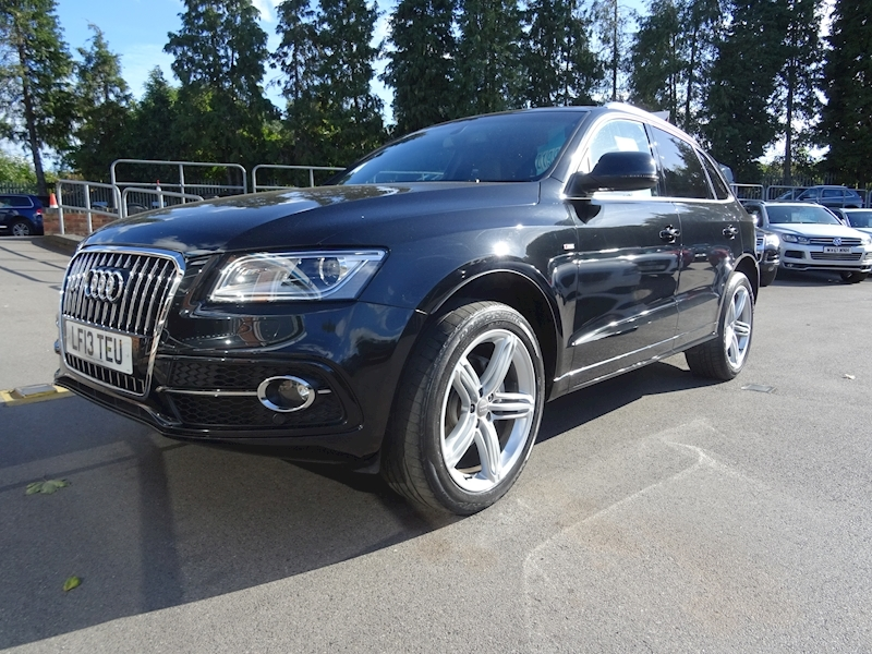 Audi Q5 2.0 Tdi Quattro S Line Plus (SAT/NAV+LEATHER)