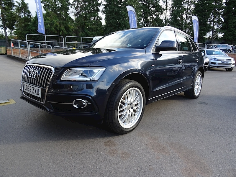 Audi Q5 2.0 Tdi Quattro S Line (FULLY LOADED)