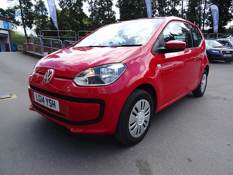 Volkswagen Up 1.0 Move Up (DEMO+1 OWNER)