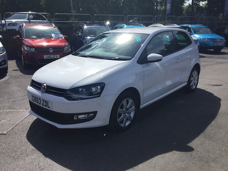 Volkswagen Polo 1.2 Match Edition (AIR CON+CRUISE+BLUETOOTH)