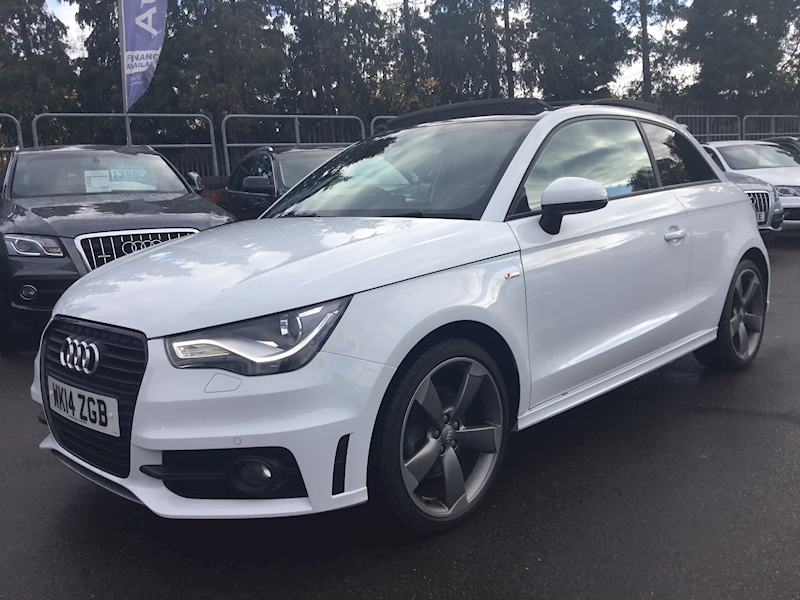 Audi A1 1.4 Tfsi S Line (BEST YOU WILL SEE) Black Edition (FULLY LOADED))