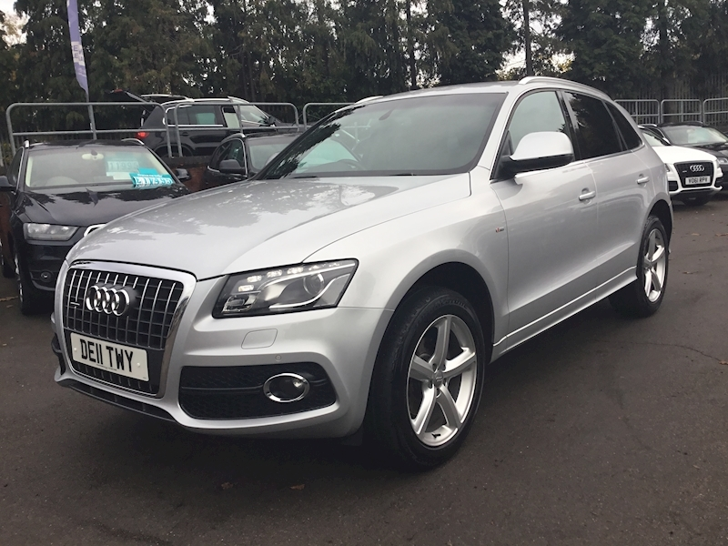 Audi Q5 2.0 Tdi Quattro S Line (SATNAV+HEATED LEATHER)