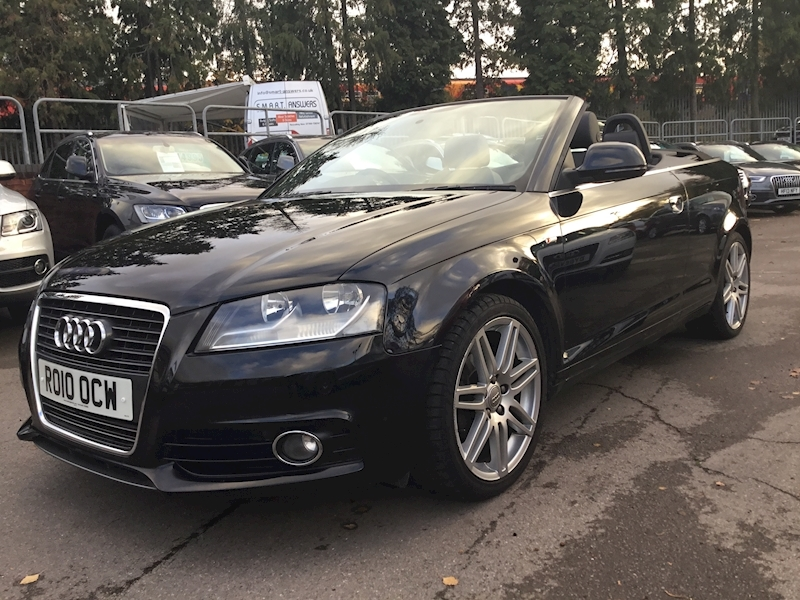 Audi A3 A3 S Line Tfsi 160bhp (LEATHER+BOSE)
