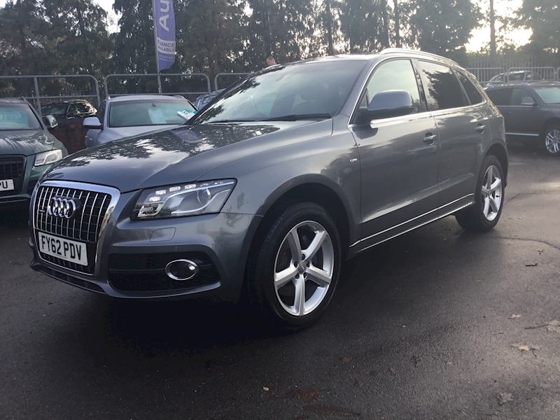 Audi Q5 Q5 S Line Tdi Quattro A HEATED LEATHER+NAV)