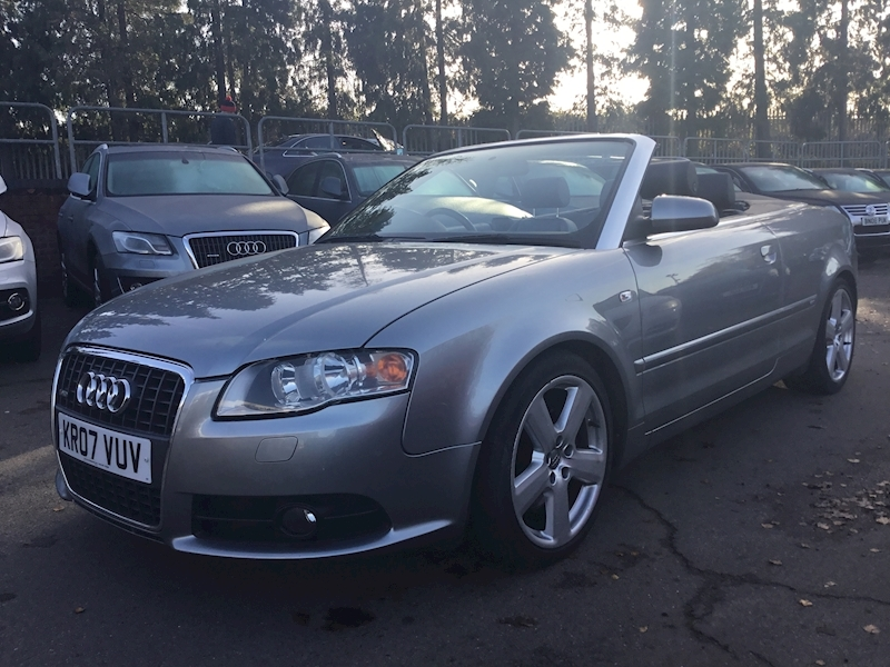 Audi A4 2.0 T Fsi S Line (SAT NAV+HEATED LEATHER)