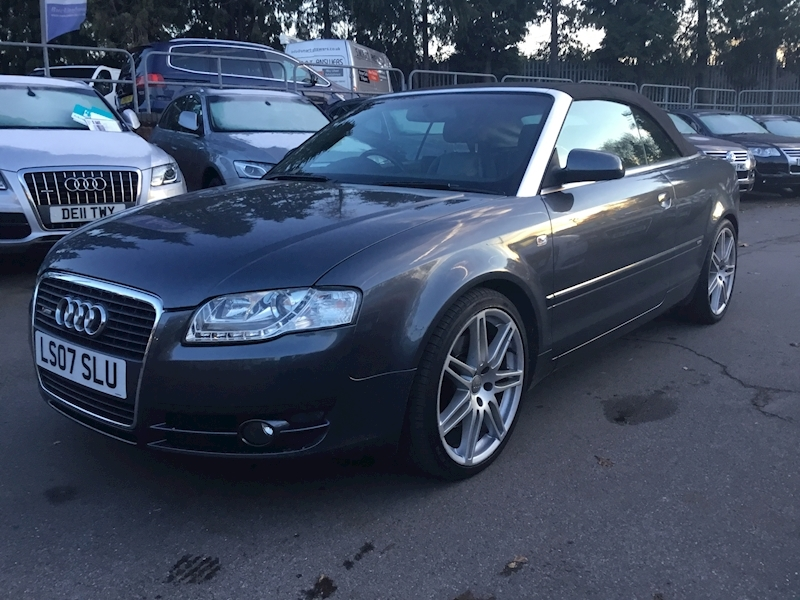 Audi A4 2.0 T Fsi S Line (SATNAV+ HEATED LEATHER)