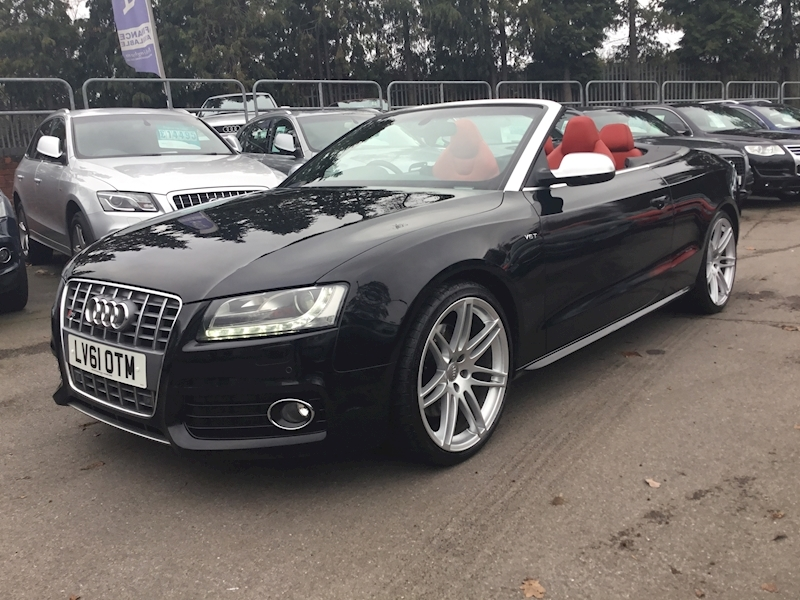 Audi S5 S5 3.0 TFSI Quattro S Tronic Convertible FULL DEALERSHIP HISTORY))