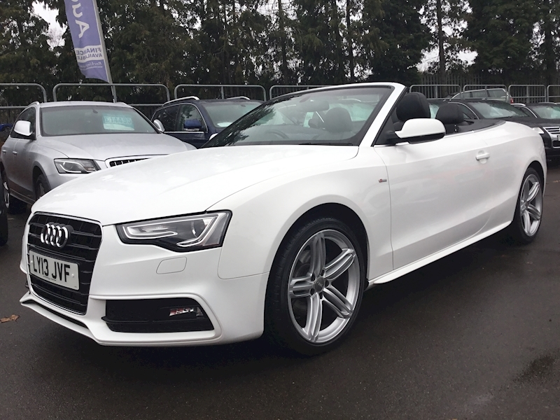 Audi A5 1.8 Tfsi S Line Special Edition (AIR SCARF+HUGE SPEC)