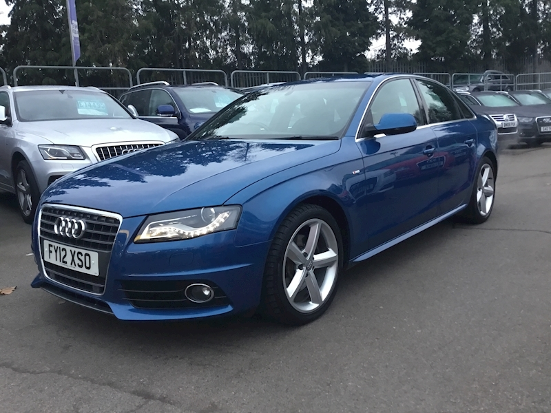 Audi A4 2.0 Tdi Special Edition Multitronic (SAT NAV+CRUISE)