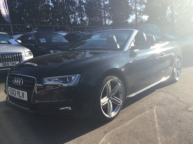 Audi A5 2.0 Tfsi S Line (FULL BLACK LEATHER)