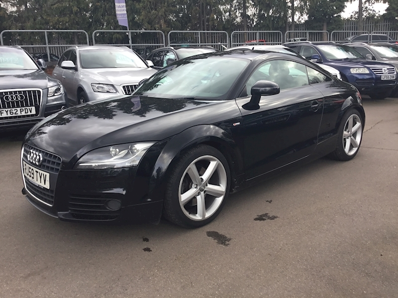Audi Tt 2.0 Tfsi S Line (SAT NAV+HEATED HALF LEATHER)