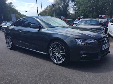 A5 Tfsi Quattro S Line Black Edition Coupe 2.0 Automatic Petrol