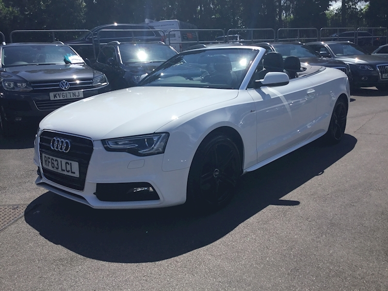 A5 Tfsi S Line Special Edition Convertible 1.8 Manual Petrol