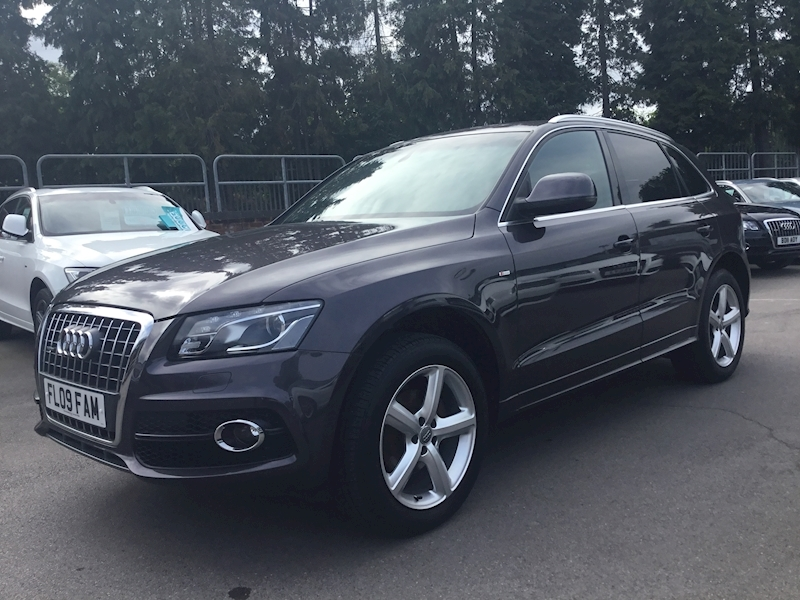 Audi Q5 2.0 Tfsi Quattro S Line S Tronic (SAT NAV+HEATED LEATHER)