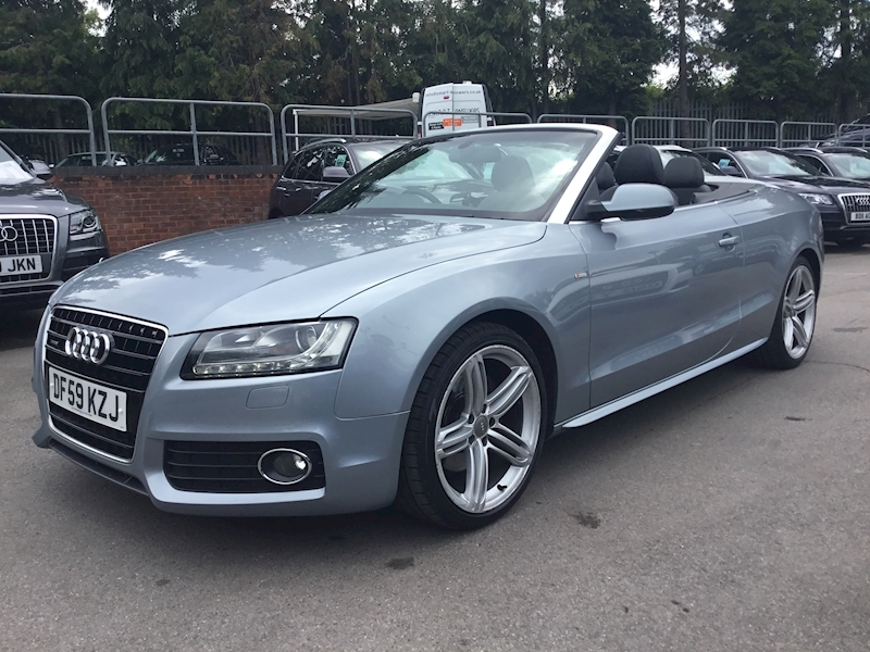 Audi A5 3.0 Tdi Quattro S Line S Tronic (NAV+HEATED LEATHER)