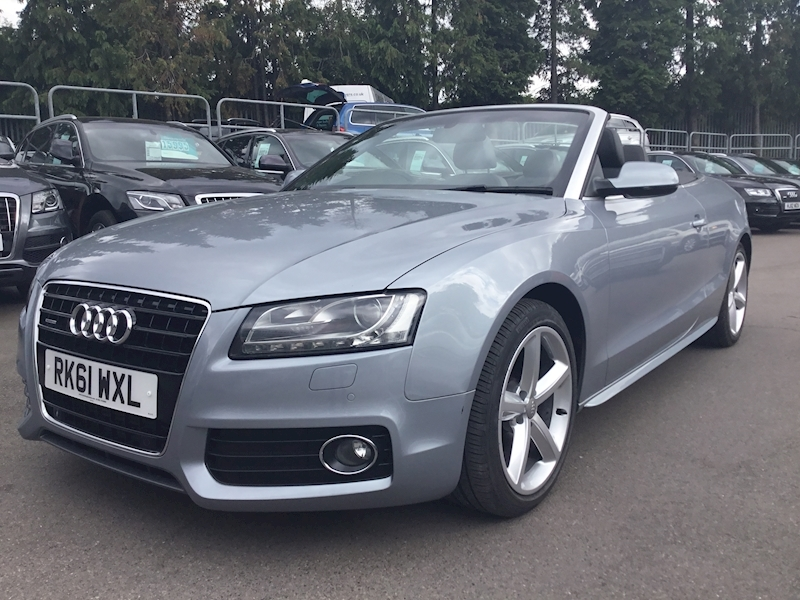 A5 Tdi Quattro S Line Convertible 3.0 S Tronic Diesel