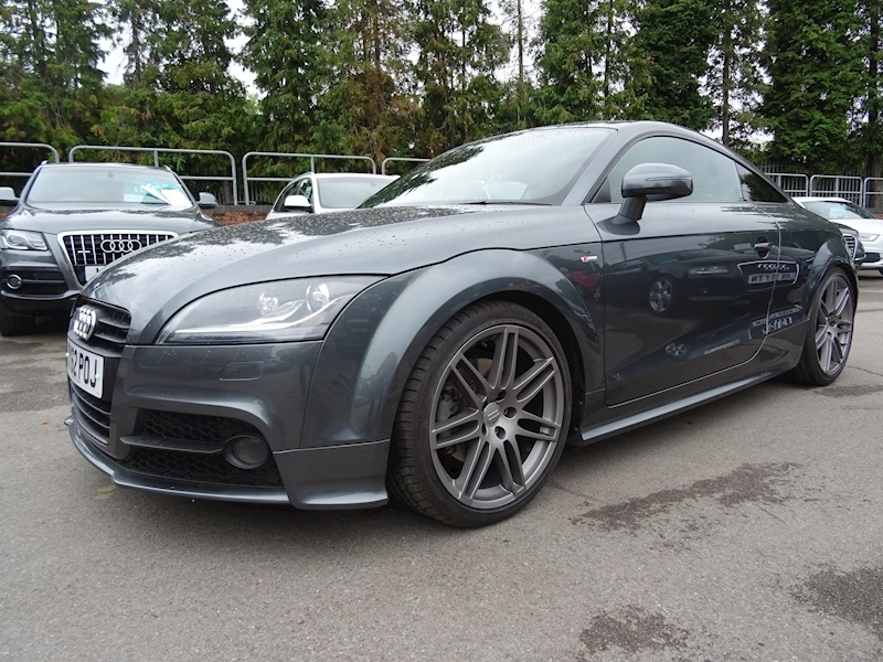 Audi Tt 2.0 Tfsi Quattro Black Edition S Tronic (LOW MILEAGE WITH FULL AUDI HISTORY)