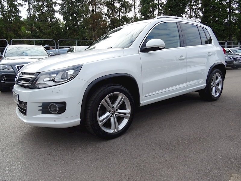 Volkswagen Tiguan 2.0 R Line Tdi Bluemotion Tech 4Motion Dsg (NAV+VIENNA LEATHER)