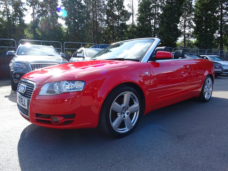 A4 T S Line Convertible 1.8 Manual Petrol