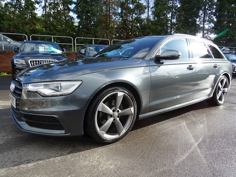 Audi A6 3.0 Avant Tdi S Line Multitronic Black Edition (HUGE SPEC)