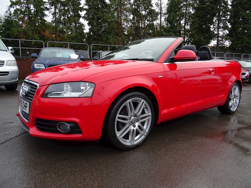 Audi A3 2.0 Tdi S Line (OVER £1600 FACTORY OPTIONS)