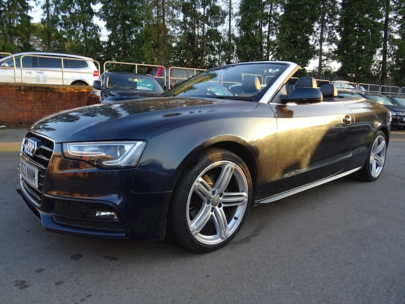 Audi A5 1.8 Tfsi S Line Special Edition (HEATED LEATHER+AIR SCARF)