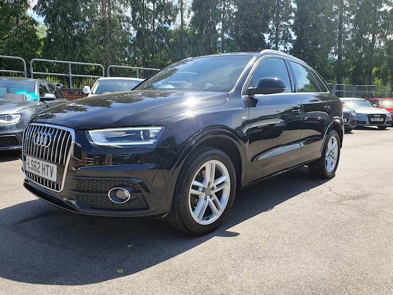 Audi Q3 2.0 Tfsi Quattro S Line S Tronic (OVER £2555 OF FACTORY OPTIONS)