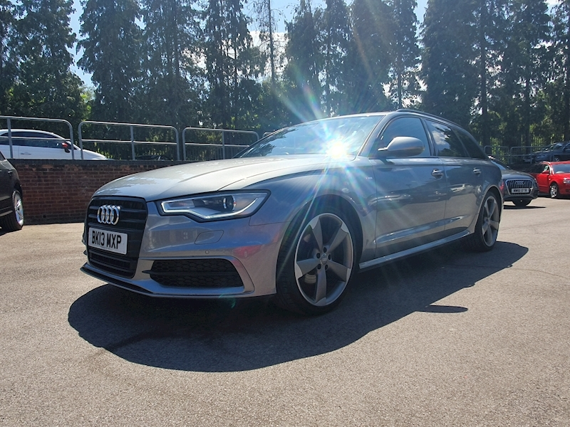 Audi A6 Avant 2.0 Avant Tdi S Line Black Edition (SATNAV+HEATED SEATS)