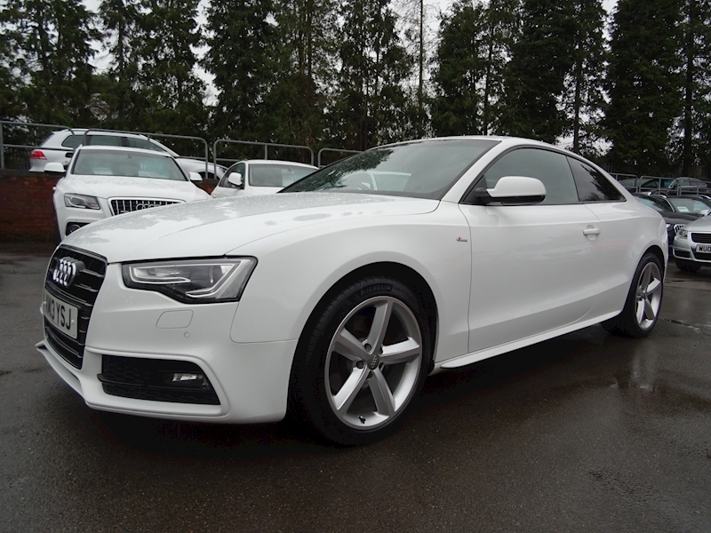 Audi A5 Coupe 3.0 Tdi S line Multitronic (OVER £3255 OF FACTORY UPGRADES)