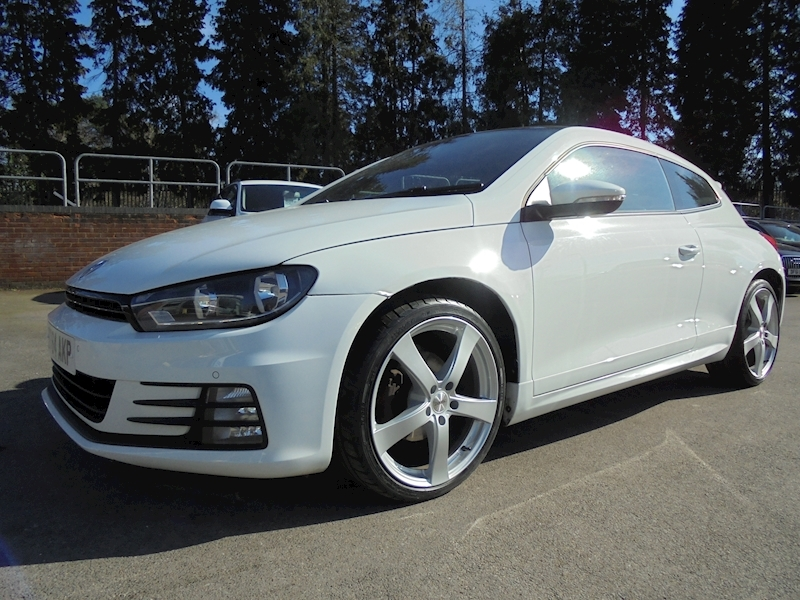 Volkswagen Scirocco 2.0 R Line Tdi Bluemotion Technology Dsg (£2115 OF FACTORY OPTIONS)