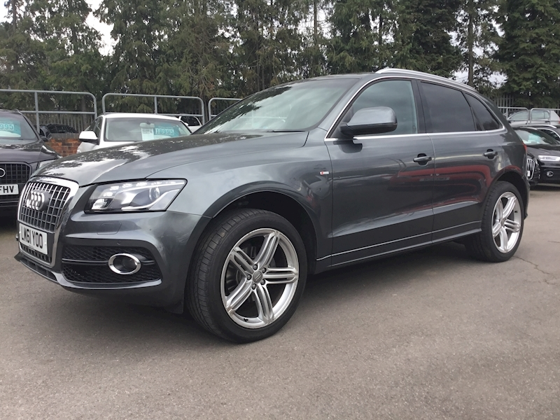 Audi Q5 2.0 Tfsi Quattro S Line Special Edition S Tronic (£6800 OF FACTORY OPTIONS)