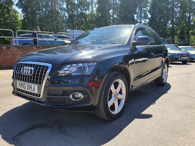 Audi Q5 2.0 Tdi Quattro S Line S Tronic (OVER £3500 FACTORY UPGRADES )