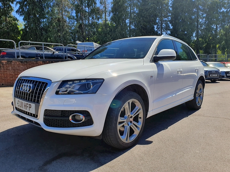 Audi Q5 2.0 Tdi Quattro S Line Special Edition S Tonic OVER £3700 FACTORY OPTIONS)