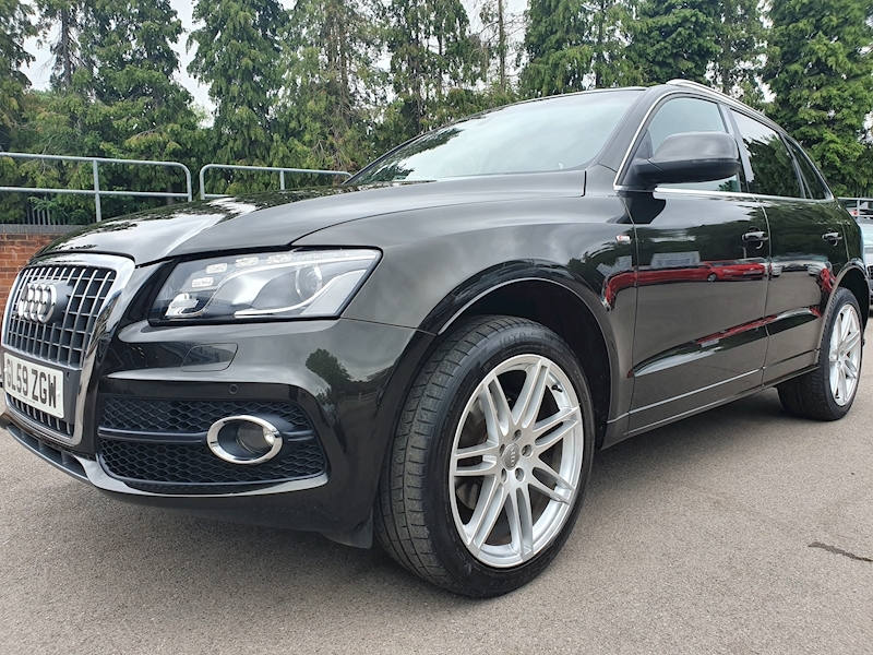 Audi Q5 Tdi Quattro S Line (OVER £8000 OF FACTORY UPGRADES)