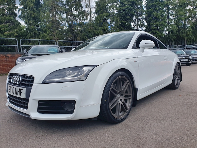 Audi Tt Tdi Quattro S Line Special Edition ( OVER £6000 OF FACTORY OPTIONS)