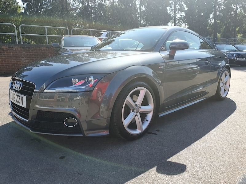 TT S line Coupe 1.8 S Tronic Petrol