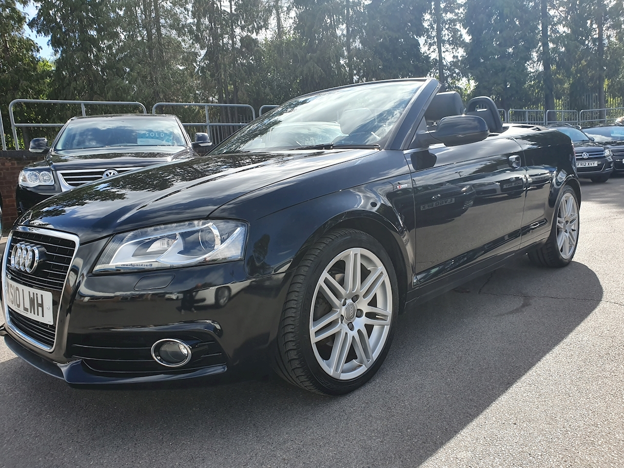 Audi A3 1.8 2dr Convertible Manual Petrol