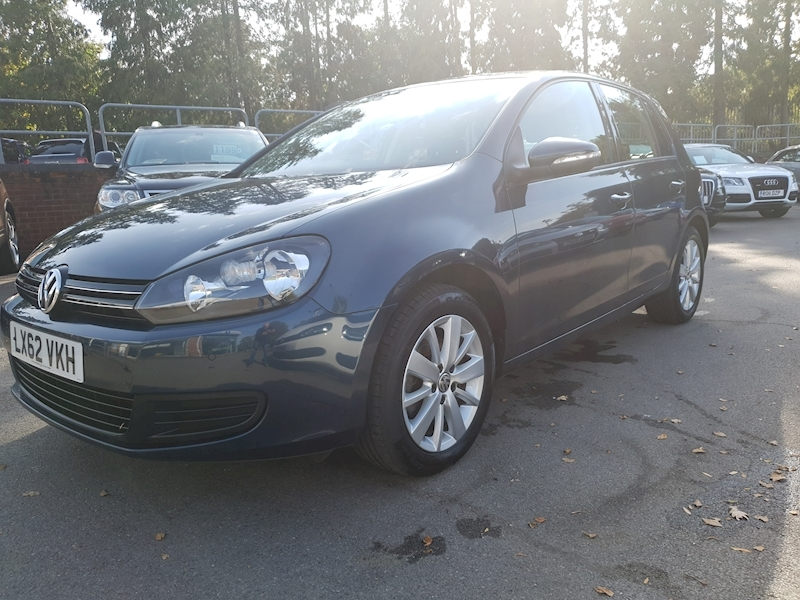 Volkswagen Golf 1.4 TSI Match DSG 5dr ONE LADY OWNER FROM NEW )