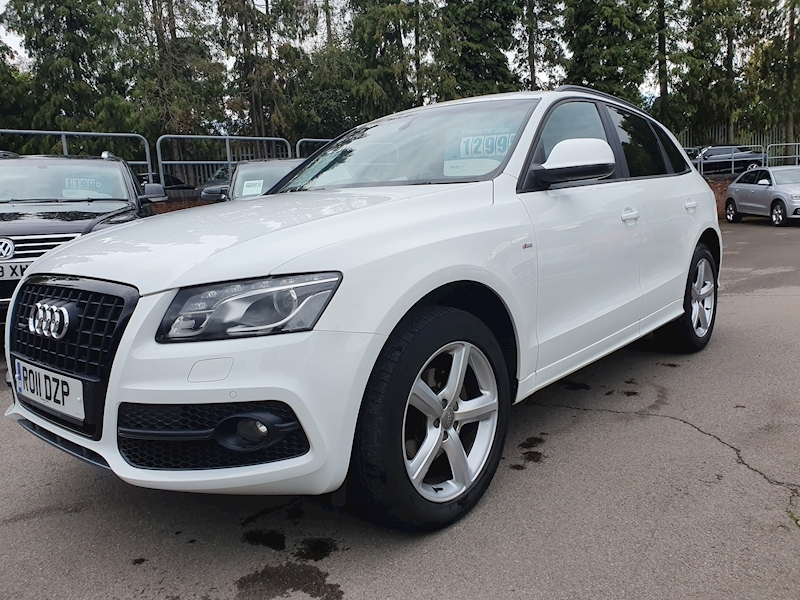 Q5 S line (OVER £4000 OF FACTORY OPTIONS) SUV 2.0 S Tronic Diesel