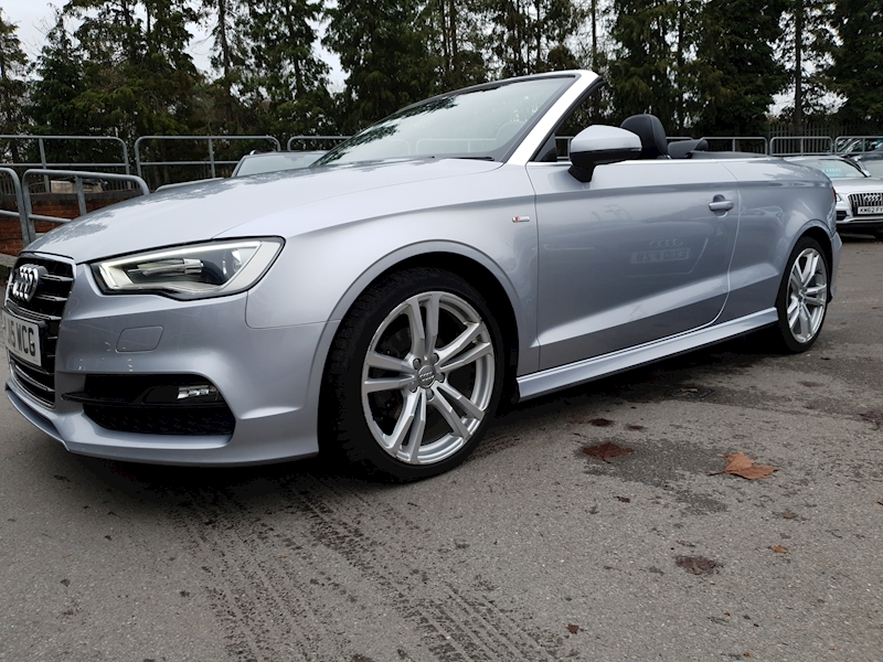 2.0 TDI S line Cabriolet (£3520 OF FACTORY OPTIONS) 2dr Diesel S Tronic (122 g/km, 148 bhp)