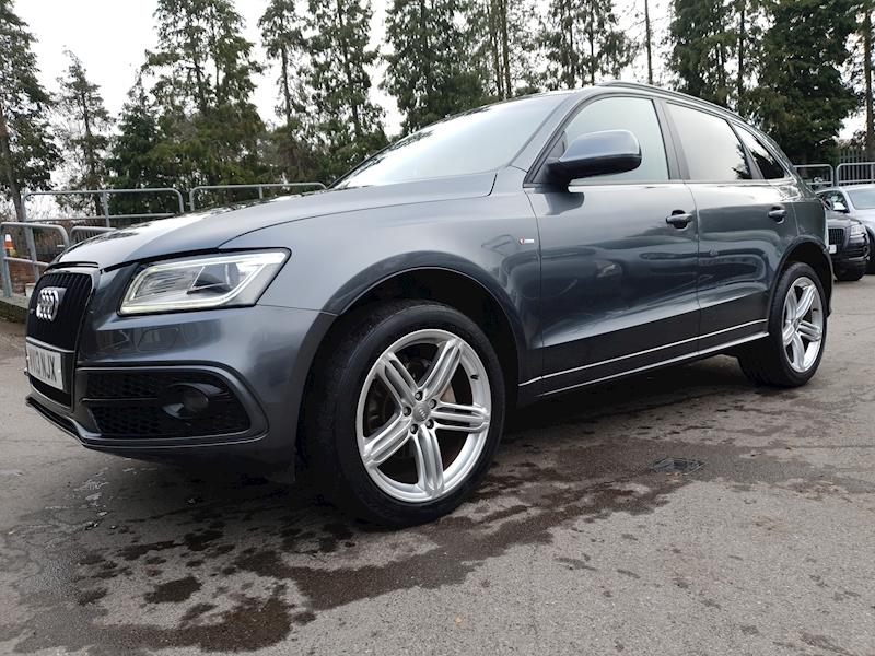 2.0 TFSI S line Plus (£3300 OF FACTORY OPTIONS) SUV 5dr Petrol Tiptronic quattro (s/s) (184 g/km, 227 bhp)